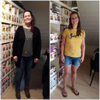 """Corine (-12,9 KG) """"Nu een aantal maanden verder, is het op gewicht blijven makkelijk"""""""