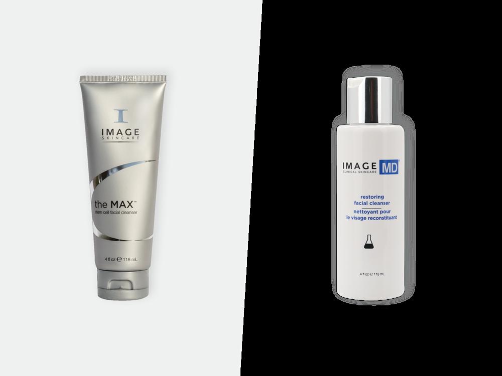 Reinigingsactie Cleanser Powerduo's   IMAGE Skincare